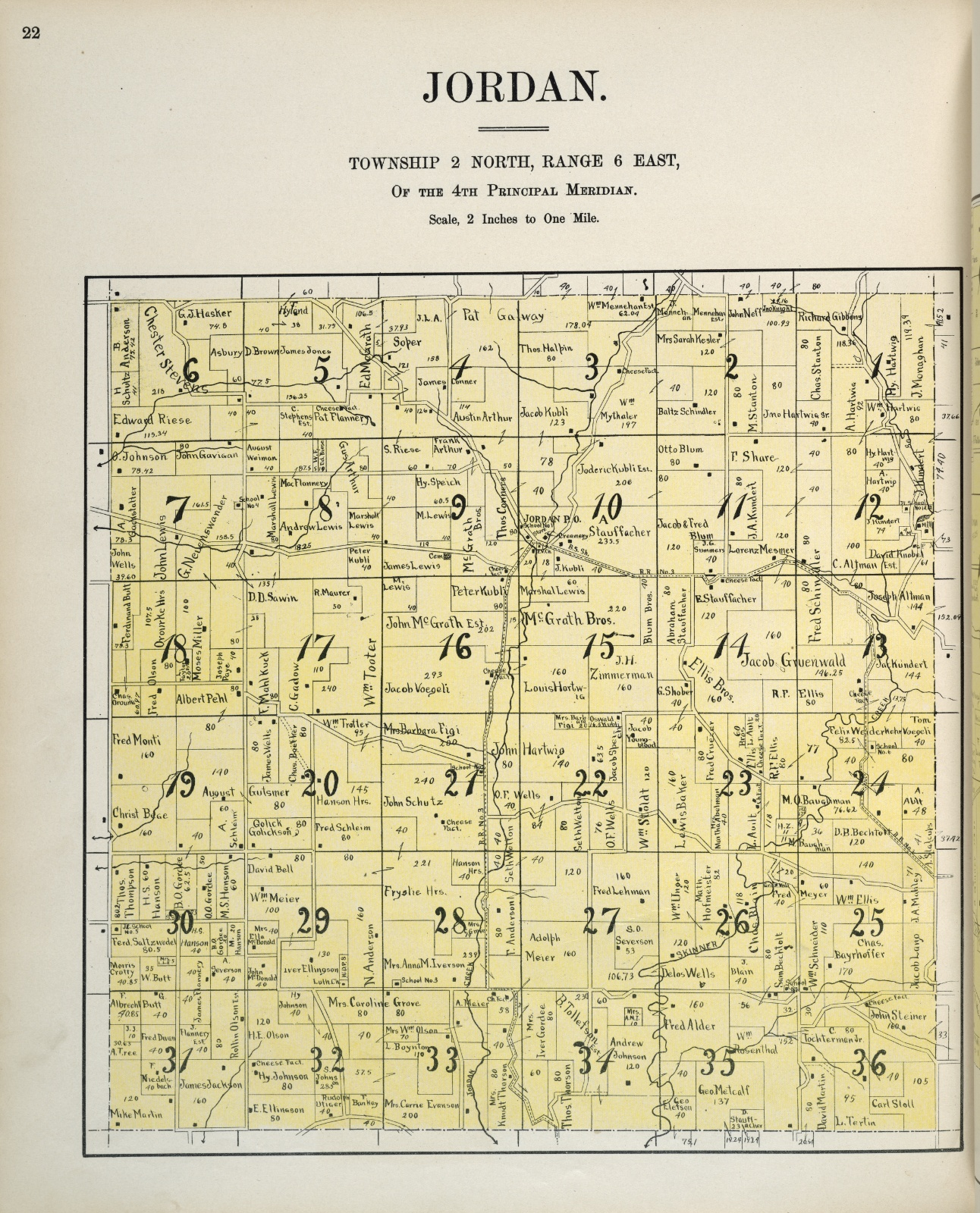 Plat-book-of-Green-County-Wisconsin-1902-p22