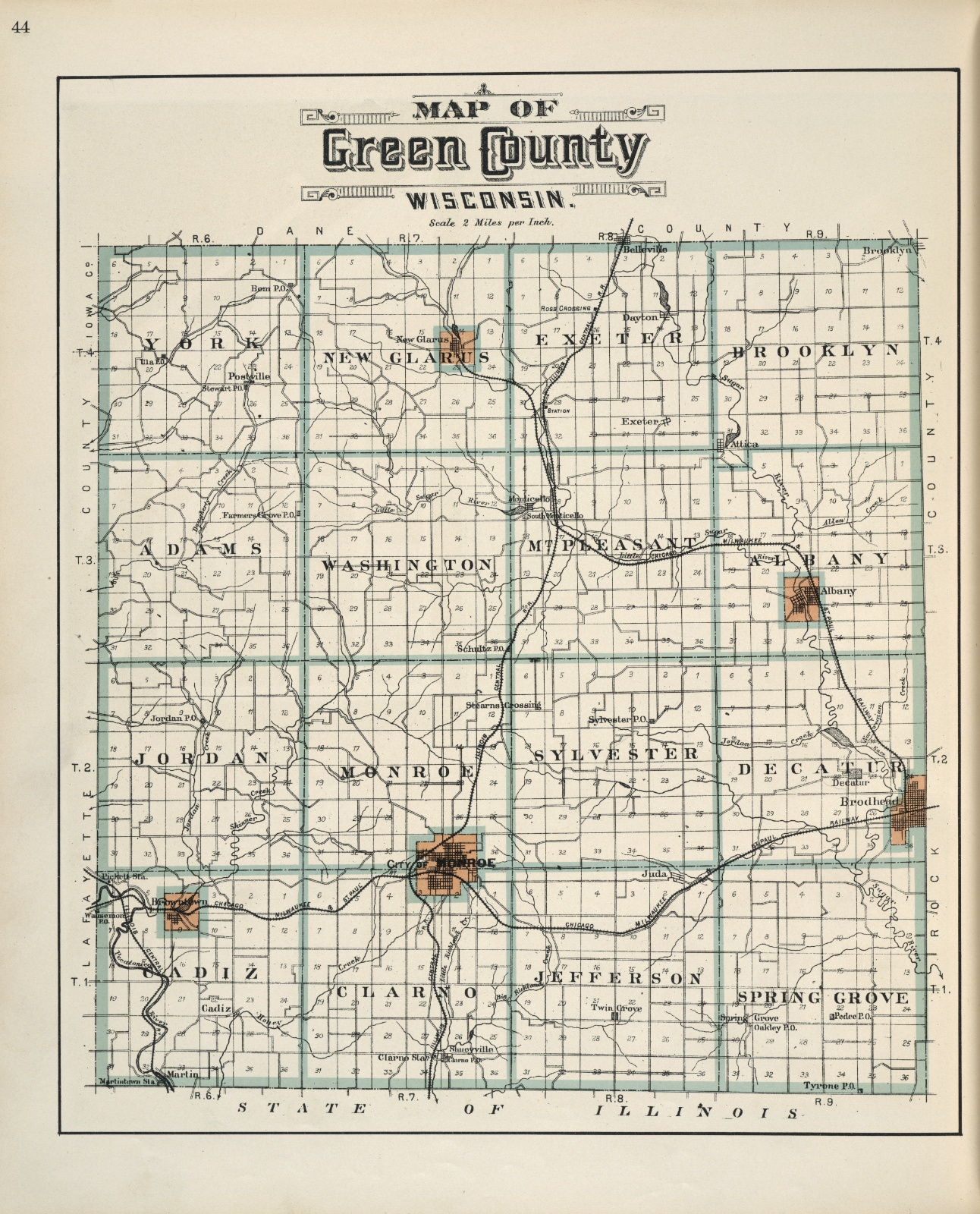Plat-book-of-Green-County-Wisconsin-1902-p44
