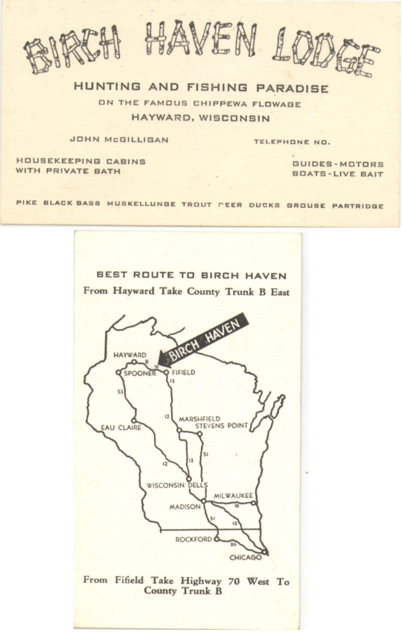 Birch Haven Lodge - Lake Chippewa Flowage